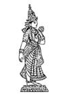 Malvorlage  Lakshmi