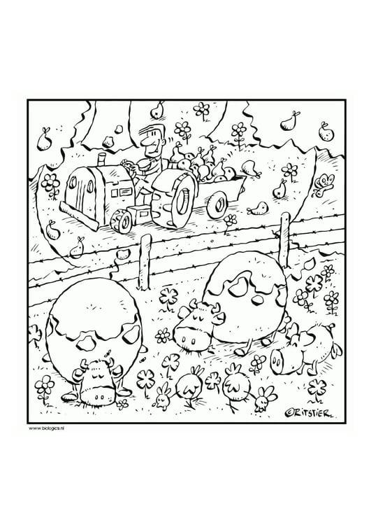 Malvorlage Landwirtschaft Ausmalbild 12106