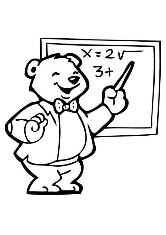 Malvorlage Lehrer 2 Kostenlose Ausmalbilder Zum Ausdrucken Bild 7102