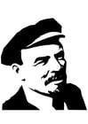 Malvorlage  Lenin