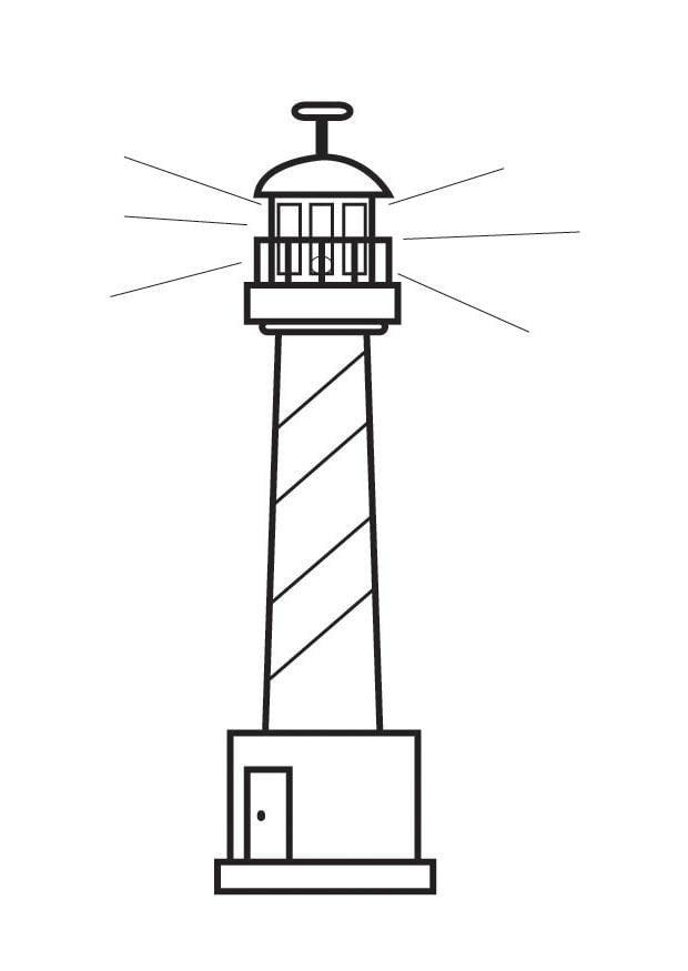 leuchtturm bilder zum ausdrucken  ausmalbilder