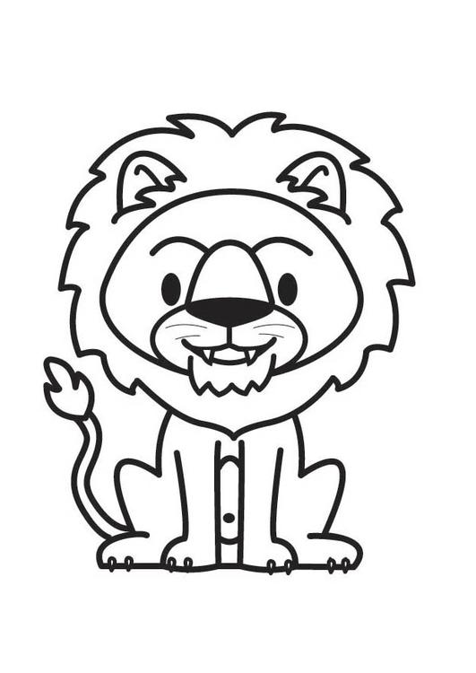 malvorlage löwe  kostenlose ausmalbilder zum ausdrucken
