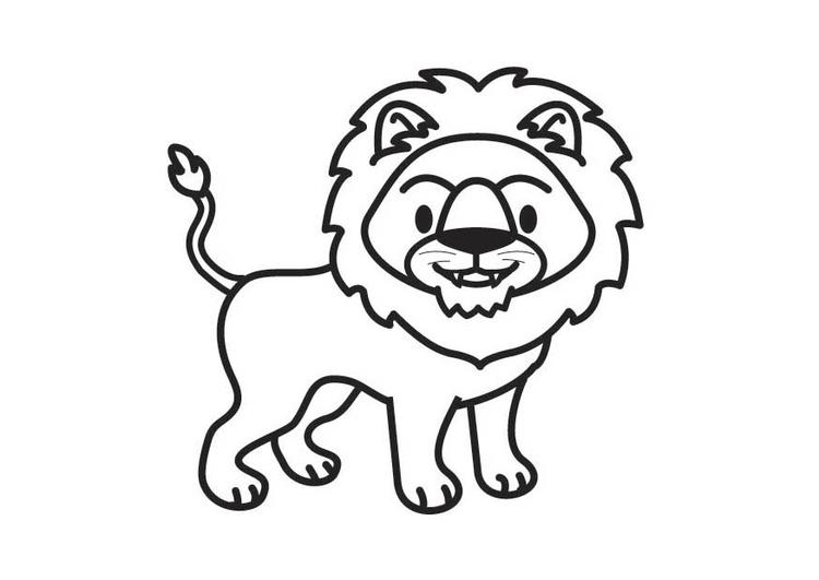 malvorlage löwe  ausmalbild 17902