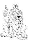 Malvorlage  Löwe