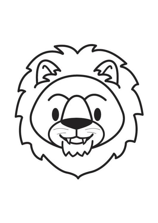Schön Löwenkopf Malvorlagen Bilder - Dokumentationsvorlage Beispiel ...