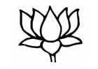 Malvorlage  Lotus