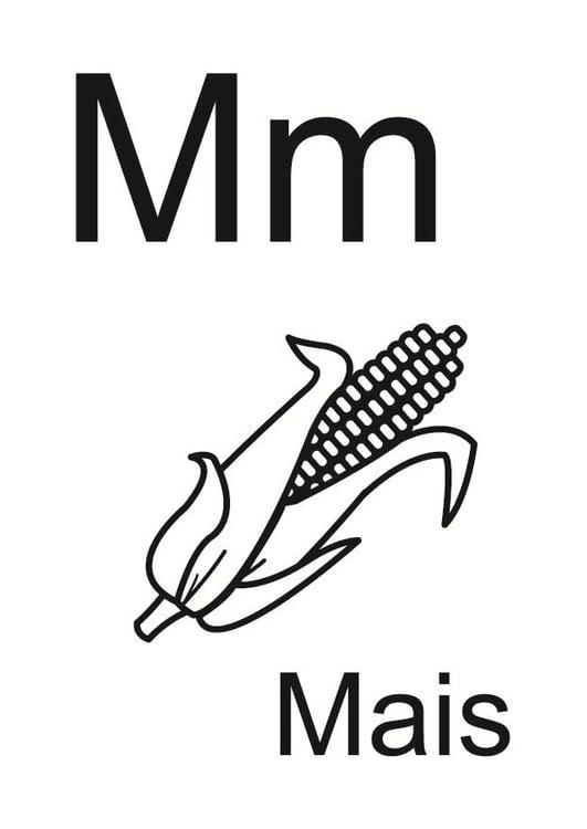 Malvorlage M Kostenlose Ausmalbilder Zum Ausdrucken