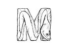 Malvorlage  m-moray