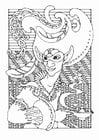 Malvorlage  Märchenfigur