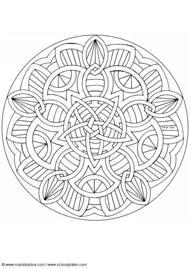 Berühmt Buddhistische Mandala Malvorlagen Galerie - Framing ...