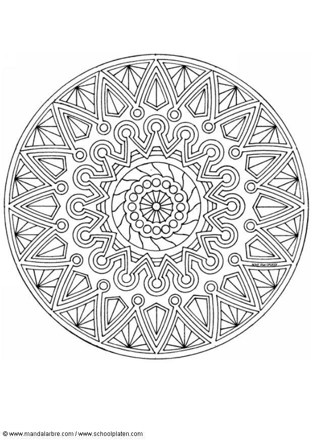 Kleurplaten Dieren Paarden Malvorlage Mandala 1702i Kostenlose Ausmalbilder Zum
