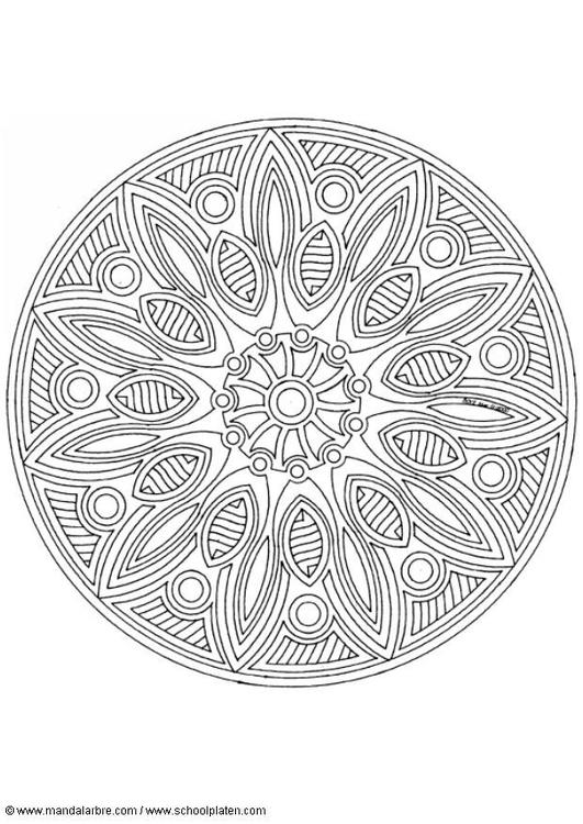 Malvorlage Mandala 1702s Kostenlose Ausmalbilder Zum Ausdrucken