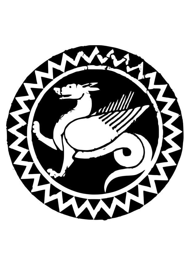 malvorlage mandala drache  kostenlose ausmalbilder zum