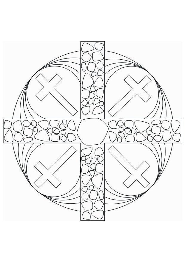 Malvorlagen Religion Mandalas My Blog