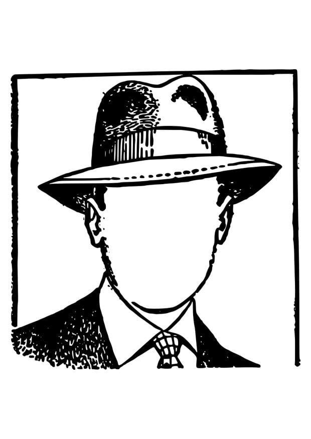 malvorlage mann ohne gesicht  kostenlose ausmalbilder zum