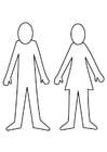Malvorlage Mann Und Frau Ausmalbild 30140