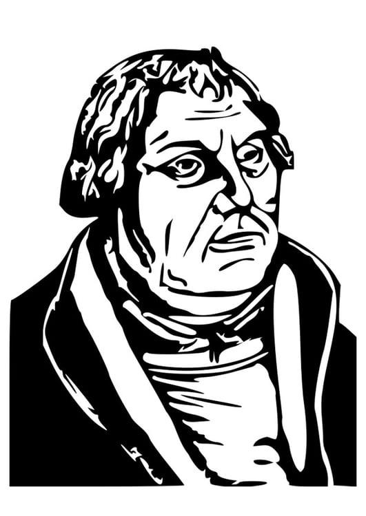 Malvorlage Martin Luther Ausmalbild 27079