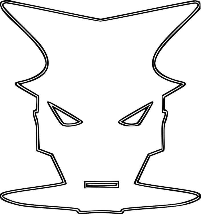 malvorlage maske  kostenlose ausmalbilder zum ausdrucken