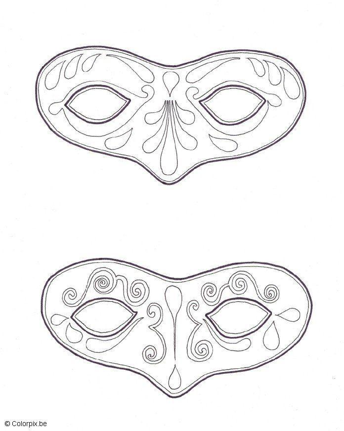 malvorlage masken ausmalbild 5667. Black Bedroom Furniture Sets. Home Design Ideas