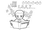 Malvorlage  Mathematik lernen