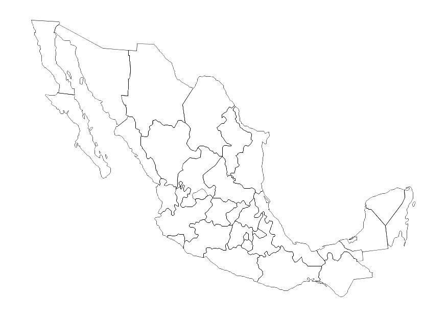 Malvorlage Mexiko | Ausmalbild 10694.