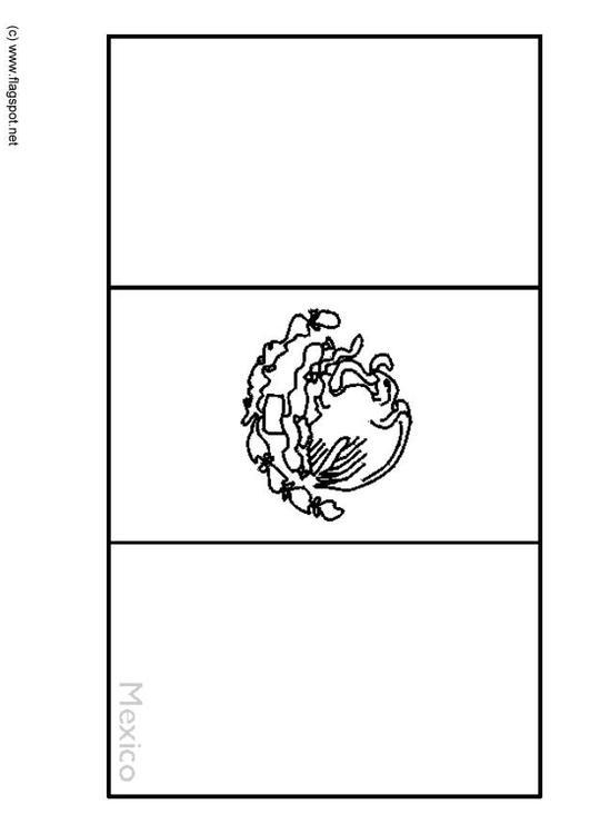 Großartig Mexiko Flagge Malvorlagen Einfach Galerie - Ideen färben ...