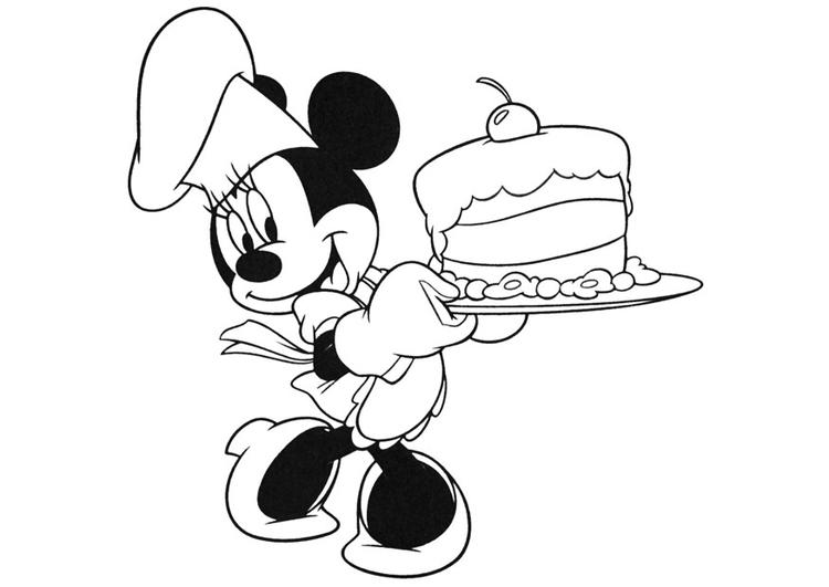 malvorlage minnie mouse  ausmalbild 20740