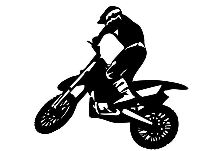 malvorlage motorcross  kostenlose ausmalbilder zum