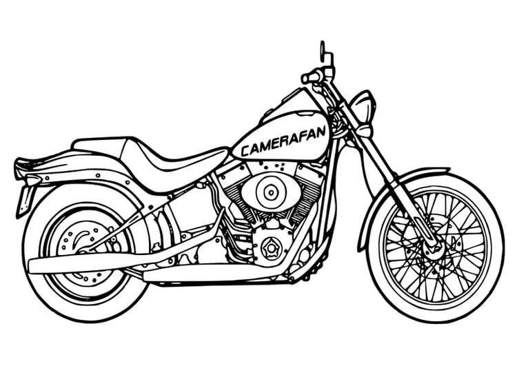 malvorlage motorrad  ausmalbild 26354