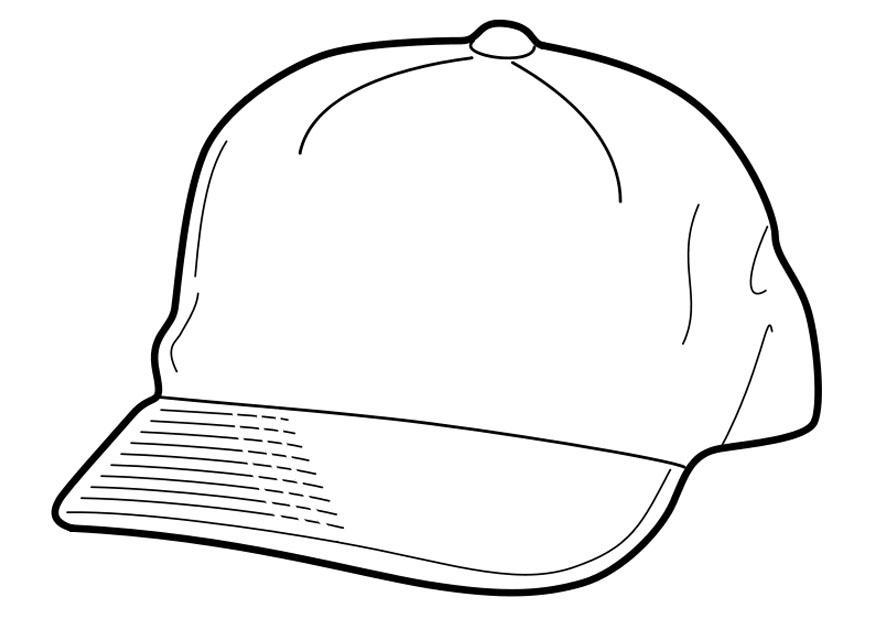 malvorlage mütze  kostenlose ausmalbilder zum ausdrucken