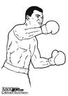 Malvorlage  Muhammad Ali