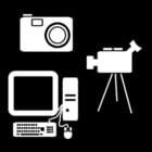 Malvorlage  Multimedia