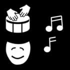 Malvorlage  Musik - Ausdruck
