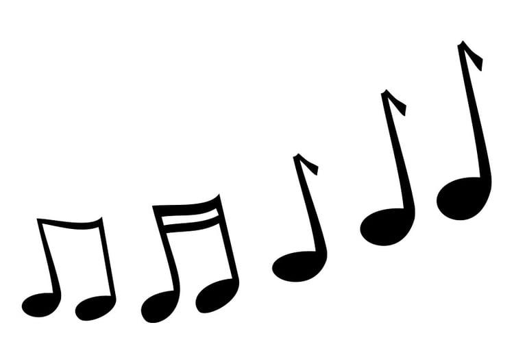 Malvorlage Musiknoten Kostenlose Ausmalbilder Zum Ausdrucken