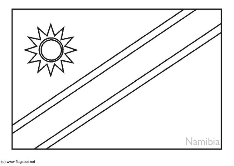 bandeira de coloring pages - photo#25