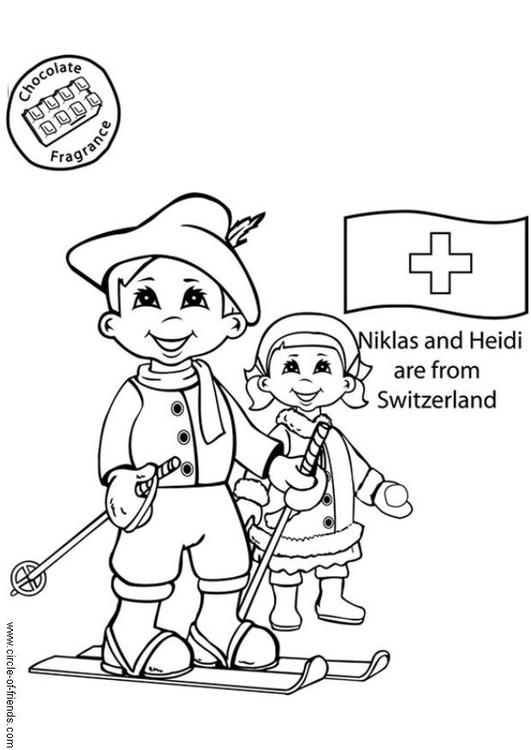 Girl Scouts Japan Coloring Page