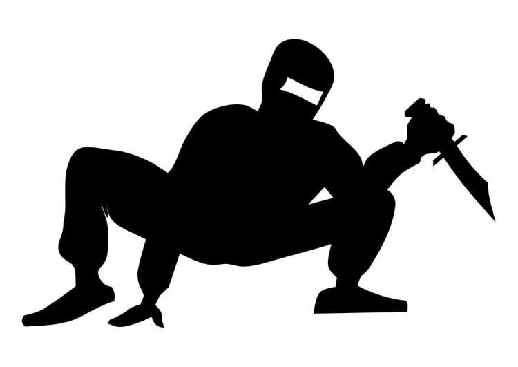 malvorlage ninja  kostenlose ausmalbilder zum ausdrucken