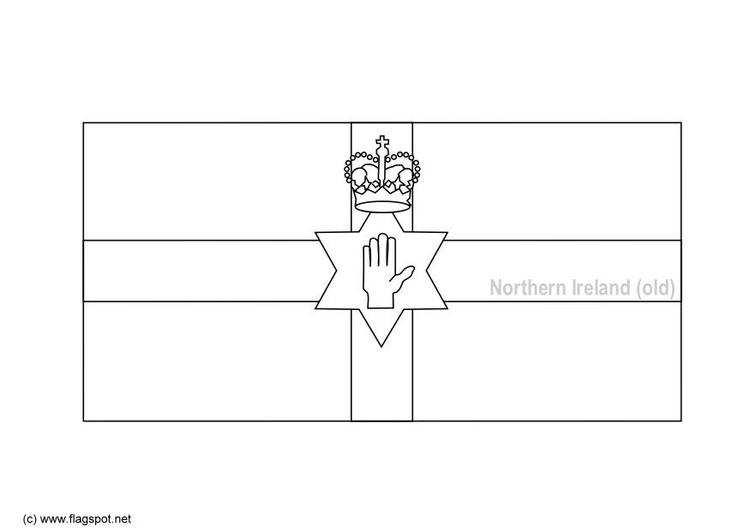 Malvorlage Nordirland Alt Ausmalbild
