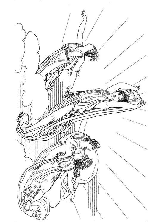 Charmant Griechische Götter Malvorlagen Zeus Bilder - Framing ...