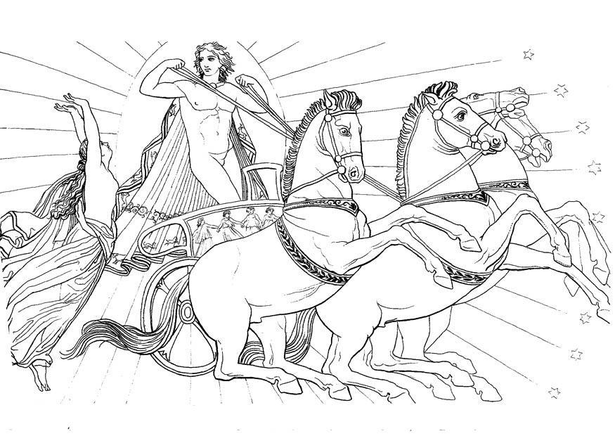 Charmant Griechische Götter Malvorlagen Fotos ...