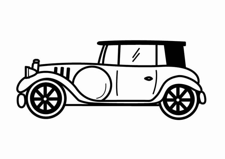Kleurplaat Cars Brandweer Malvorlage Oldtimer Kostenlose Ausmalbilder Zum Ausdrucken