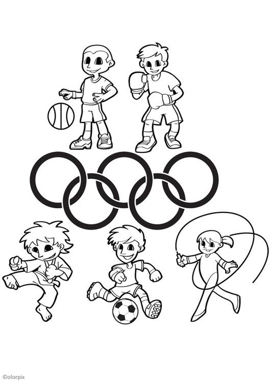 Tolle Olympische Malvorlagen Ideen - Ideen färben - blsbooks.com