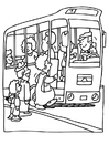 Malvorlage  Omnibus