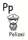 Malvorlage  p