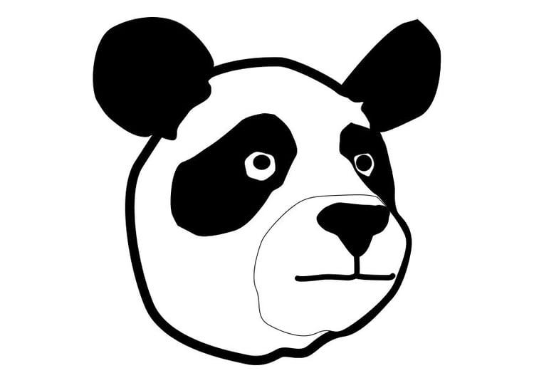 Malvorlage Panda Ausmalbild 10324