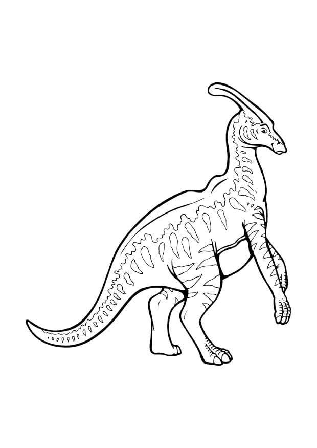 Malvorlage Parasaurolophus Kostenlose Ausmalbilder Zum