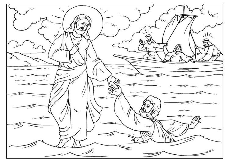 Kleurplaten Kerst Engel Maria Malvorlage Petrus Verliert Seinen Glauben Kostenlose