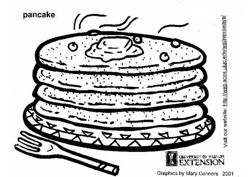 Niedlich Pancake Malvorlagen Ideen - Ideen färben - blsbooks.com