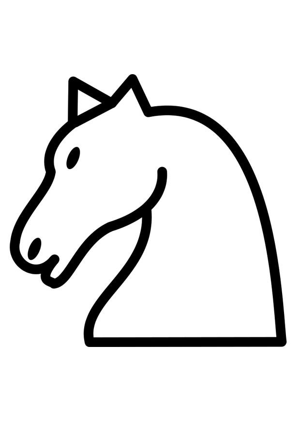 Malvorlage Pferd Ausmalbild 25880