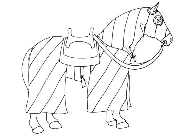Malvorlage Pferd Ausmalbild 20656